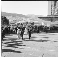 Visit of Queen Elizabeth II to the Dominion Museum in Wellington