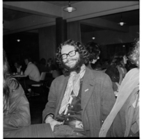 Students' Arts Festival 1970. Students in the Victoria University student cafeteria