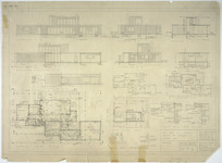 Firth, Cedric Harold 1908-1994 :Mr & Mrs G. F. Vance. House at Cheviot Street, Lowry Bay. Sheet no. 1 of 3. April 1954. Plishke and Firth Architects, 81 Todman Street, Wellington.