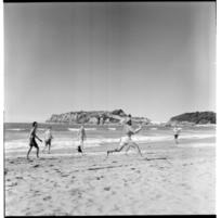 Omanu Beach, Tauranga, 1971.