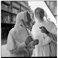 'West Coast Week' celebrations in Cuba Mall, Wellington, 1971.