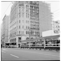 Views in Manners Street and Customhouse Quay, 1974.