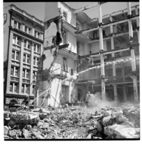 Demolition of the Wellington General Post Office, 1974.