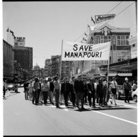 Save Manapouri demonstration, 1970