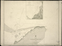 Ahuriri Road and Port Napier [cartographic material] / surveyed by B. Drury, 1855.