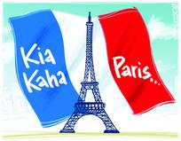 Kia kaha Paris