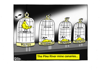 The Pike River Mine canaries