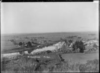 Ngaruawahia, Part 1 of a 2 part panorama, circa 1910