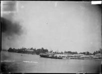 Ferry at Tauranga Wharf