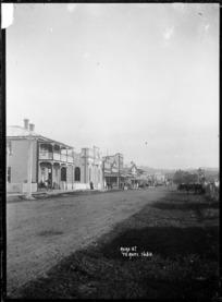 View of Rora Street, Te Kuiti