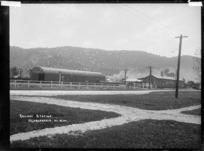 Ngaruawahia Railway Station, circa 1910