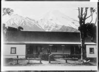 Dawson Falls Mountain House, Mount Taranaki - Photograph taken by David Duncan