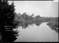 Waikato River at Hamilton, circa 1910s