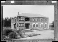Nurses Home at Ashburton - Photograph taken by A.W.H.