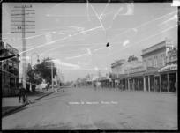 View of Victoria Street, Hamilton, circa 1918