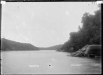 Waingaro Estuary, Raglan, 1910 - Photograph taken by Gilmour Brothers