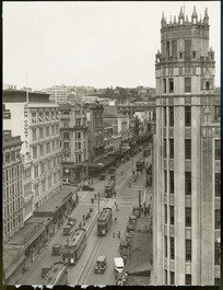 Queen Street, Auckland - Photograph taken for the New Zealand Herald