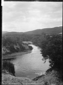View of the Mangaokewa Stream, near Te Kuiti