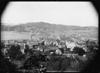 General view of Wellington taken from Kelburn looking east