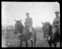 Generals Godley and Russell at the New Zealand Division horse show