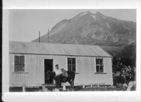 Rahotu Mountain House, Mount Taranaki - Photograph taken by David Duncan