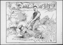 Lloyd, Trevor, 1863-1937 :A Helping Hand. New Zealand Herald, 18 February 1928.