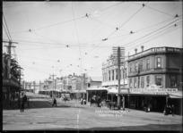 View of Karangahape Road, Auckland
