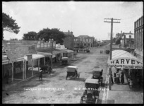 Church Street, Opotiki - Photographed by W J Newell