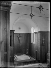 Interior of Convent Chapel, Roman Catholic Cathedral of the Blessed Sacrament, Christchurch