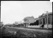 Alexandra Street, Te Awamutu, ca 1910