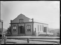 Town Hall at Kihikihi, circa 1912
