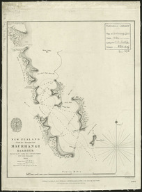 Maurhangi Harbour [cartographic material] / surveyed by F. A. Cudlip ...  H.M.S. Buffalo ... 1834.