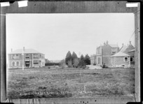 Nurses Home and hospital at Ashburton - Photograph taken by A.W.H.