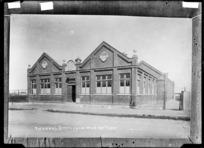 Ashburton Technical School - Photograph taken by A.W.H.