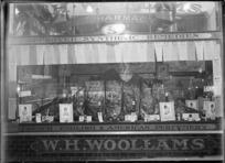 W H Woollams pharmacy, Queen Street, Auckland