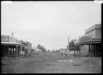Main street, Tuakau township