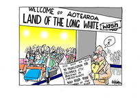 Welcome to Aotearoa Land of the Long White Wash