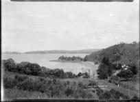 General view of Cowes Bay, Waiheke Island