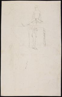 Ellis, William Wade, d 1785 :[Two figures, men of Hawaii. 1779]