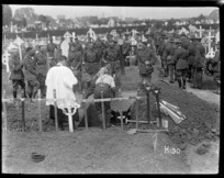 Burial of Brigadier General F E Johnston, World War I