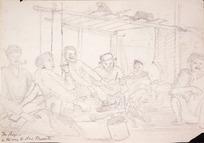 Collinson, Thomas Bernard 1822-1902 :The boys on the way to New Plymouth [1847]