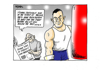[Upcoming boxing match between Joseph Parker and Anthony Joshua]