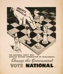New Zealand National Party :Change the government. Vote National. [1943?]