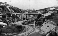 [Postcard]. Karori Electric Tramway, Wellington, N.Z. [1908].