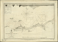 New Plymouth or Taranaki road [cartographic material] / surveyed by J.L. Stokes ... 1849.