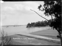 View of Birkenhead Point from Northcote, Auckland