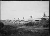 Cottages in Pulham Road, Warkworth