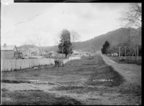 Thorpe Street, Ngaruawahia, 1910 - Photograph taken by G & C Ltd