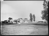 Street view at Ngaruawahia, ca 1910