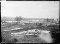 Huntly looking West, ca 1910s